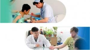 三甲医院专家邬志美来青岛安宁医院进行专家会诊了